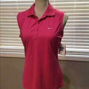 Nike golf shirt size m